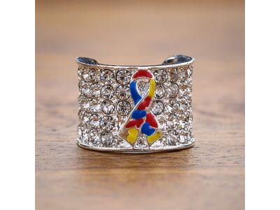 Autism Awareness Ribbon Charm For Stethoscope Stethoscope Charms Stethoscope